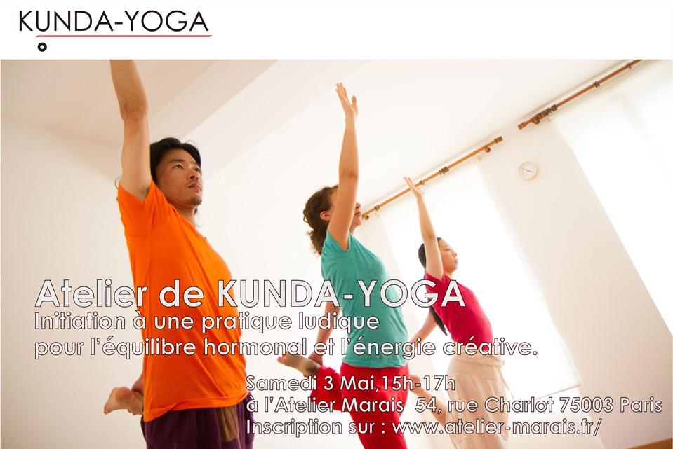 Kunda-yoga facebook cover atelier 3 mai atelier marais