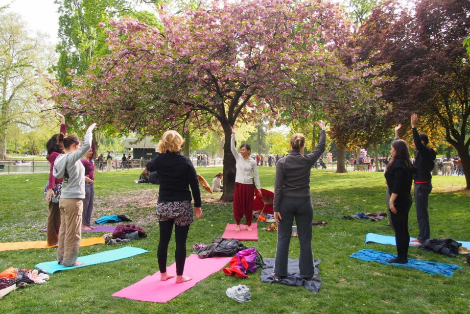 KUNDA-YOGA Cours Plein Air Vincennes