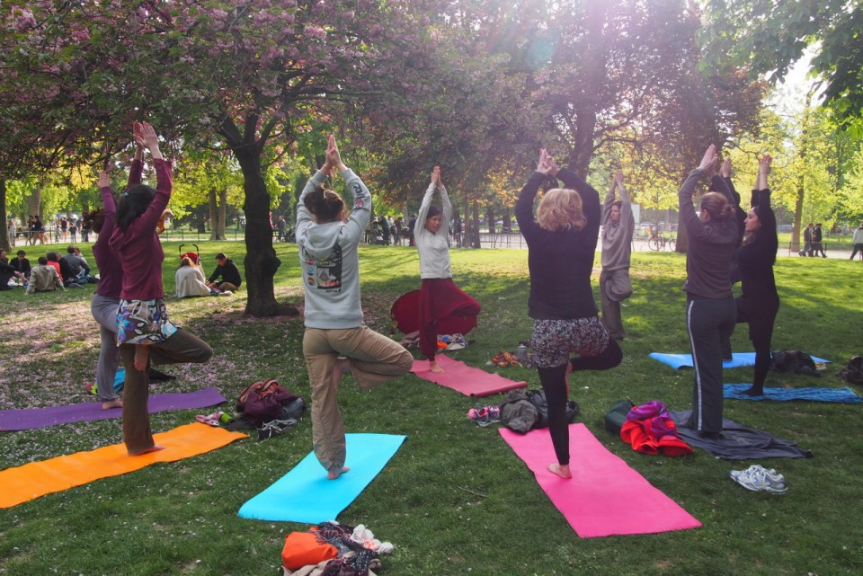 Kunda-Yoga cours de yoga Plein air Paris