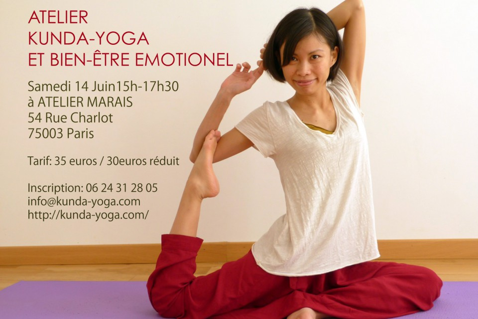 Atelier Kunda-Yoga et bien-etre emotionel