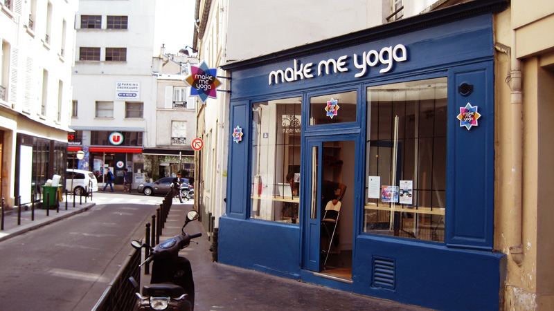 Make Me Yoga Paris devanture