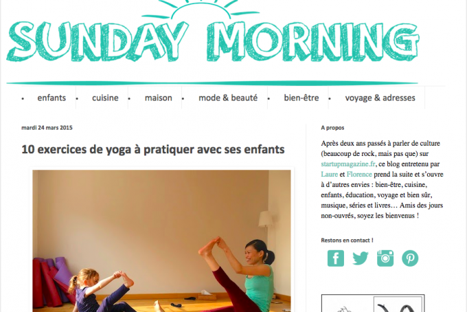 ⒸFlorence Rajon http://sundaymorning-leblog.blogspot.fr/