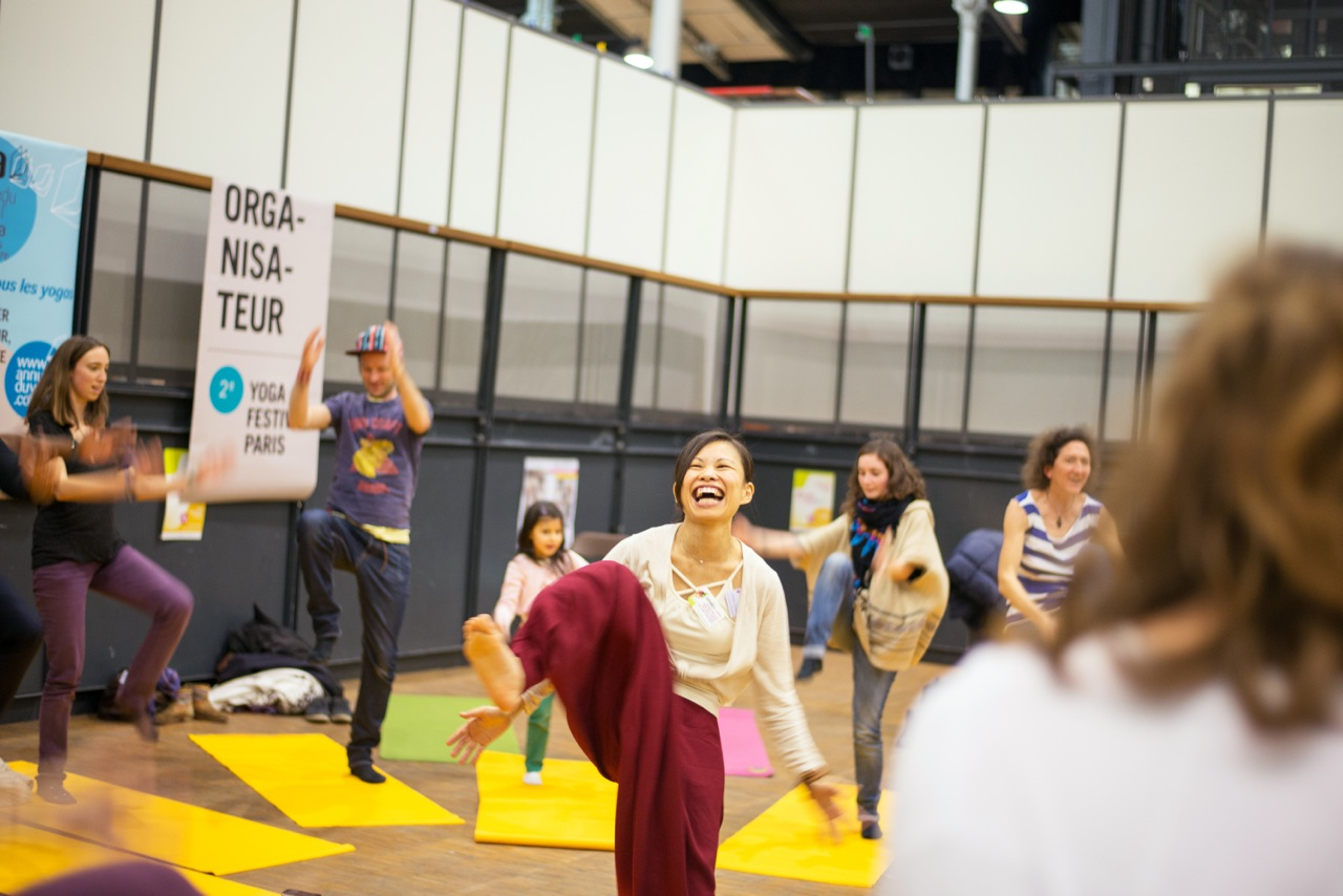 Salon jardin des th rapies 2015 grand merci kunda yoga for Salon yoga porte de la villette