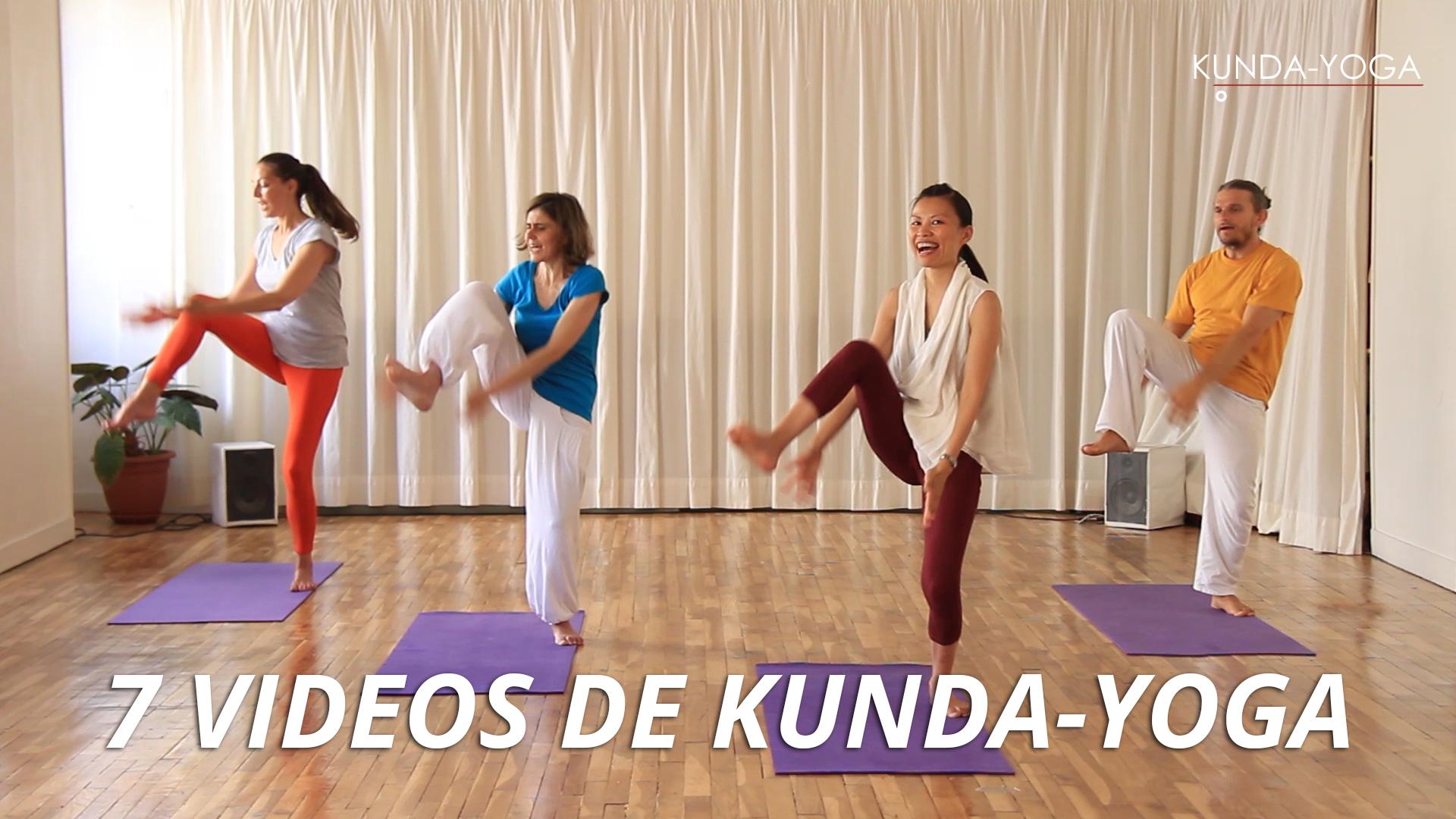 Participez gratuitement au programme de «7 vidéos du Kunda-Yoga»