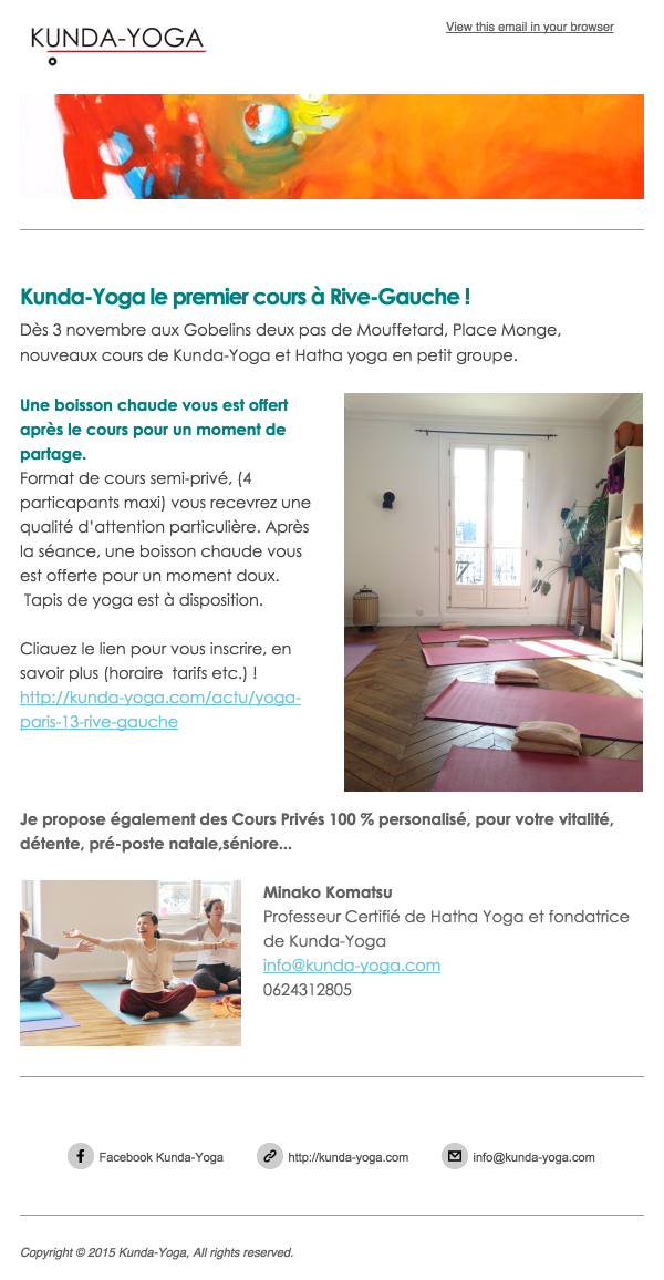 Newsletter | KUNDA-YOGA