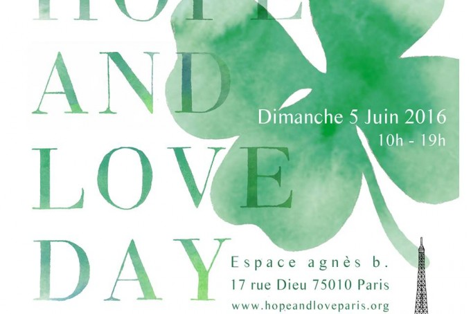 Yoga en plein air Paris Hope and Love day